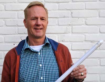 Bert Deege eigenaar kostenbesparing door led-verlichting