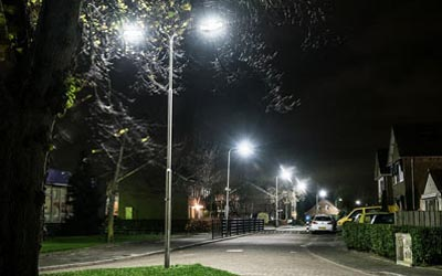 Bergschenhoek Lansingerland gemeente straatverlichting